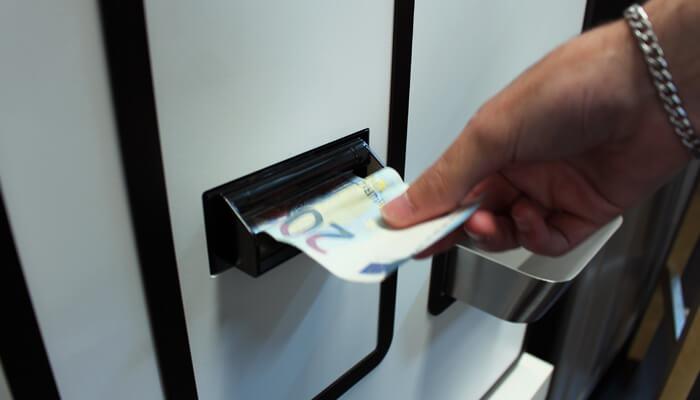 Pagamentos com dinheiro   Casharmour